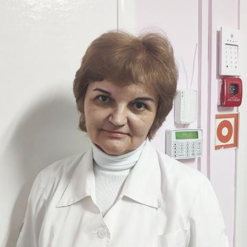 Старшая медсестра Калюш Ирина Ивановна