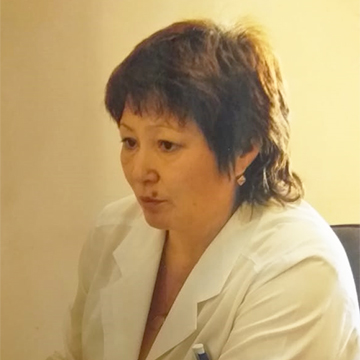 Старшая медсестра Нидзиева Валентина Васильевна